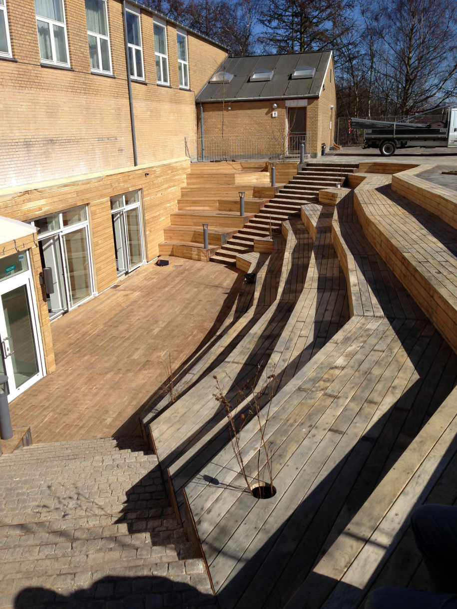 Dall & lindhardtsen a/s – helsingør gymnasium, ombygningsprojekter